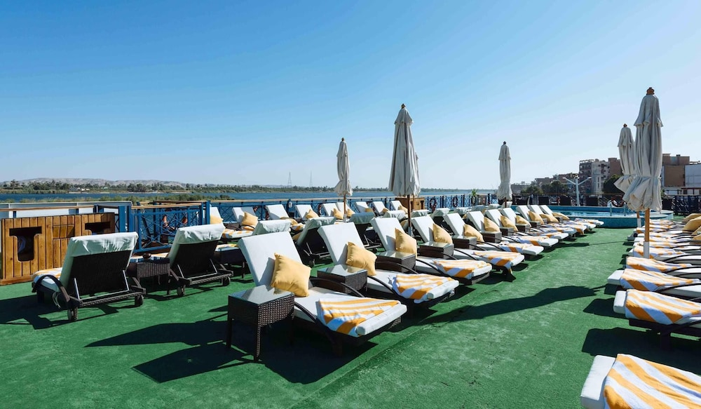 Sundeck, MS Esmeralda Nile Cruise (3/4/7 nights from Aswan or Luxor)