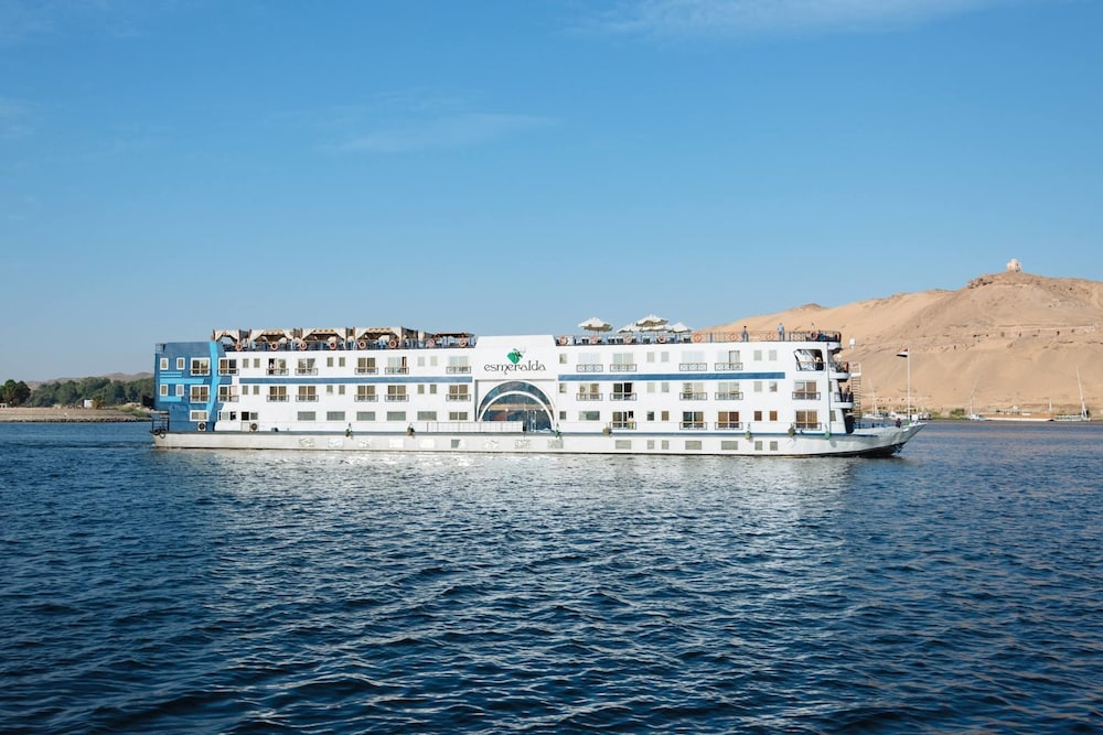Front of Property, MS Esmeralda Nile Cruise (3/4/7 nights from Aswan or Luxor)
