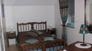 Individually decorated, blackout drapes, bed sheets