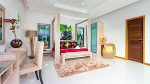 4 間臥室、房內夾萬、窗簾、免費 Wi-Fi