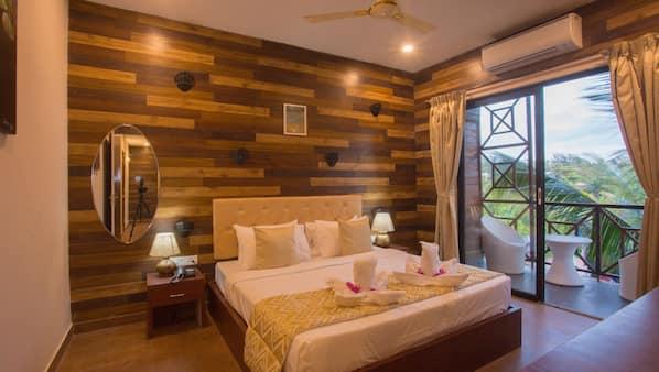 Daunenbettdecken, Pillowtop-Betten, individuell dekoriert