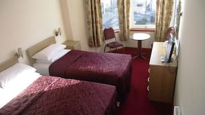 Desk, iron/ironing board, free WiFi, bed sheets