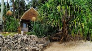 Am Strand, Yoga