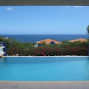 Tropical Oasis- Large Private Pool, sea Views, Surrounded by Gardens