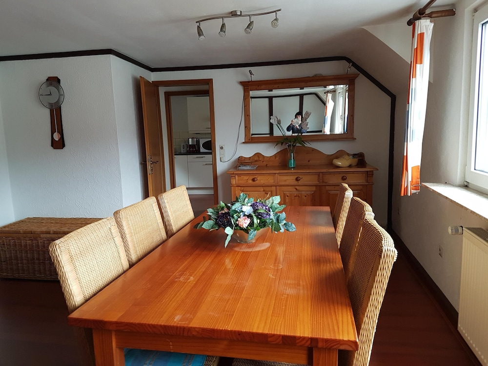Private Kitchen, Holiday apartment with a beautiful view of the Moselle