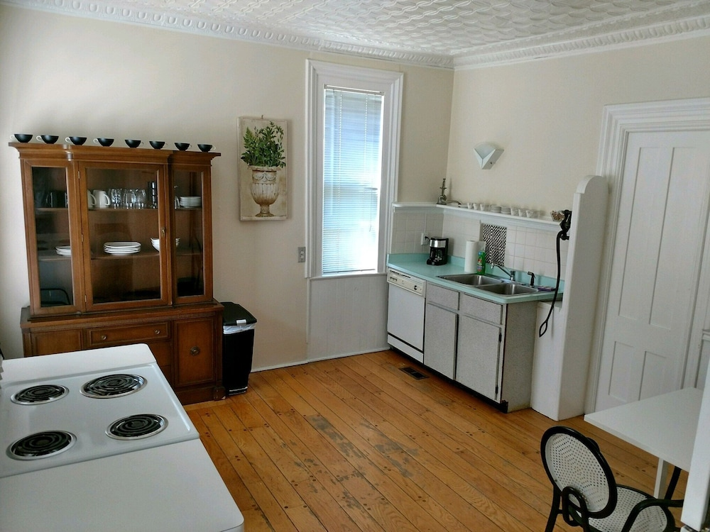 Private Kitchen, 5 Room Suite in an 1840 Second Empire Victorian