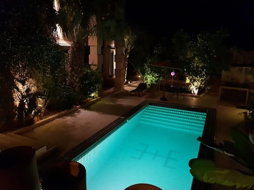 Villa With 7 Bedrooms in Taroudant, With Private Pool, Furnished Garden and Wifi - 60 km From the Beach
