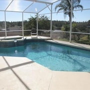 Luxury 4bd Villa With Pool/jacuzzi, Game Room, Summer Kitchen