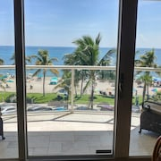 Beach Front Haven Ocean View Condo, Deerfield Beach the Best of South Florida