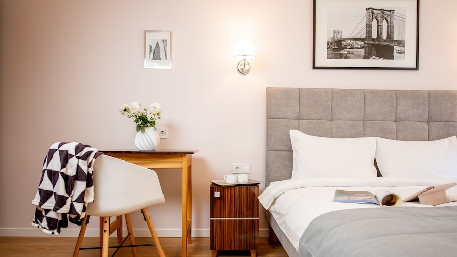 Art Deco Central Rooms is a new Mini-hotel in the Central Part of Lviv