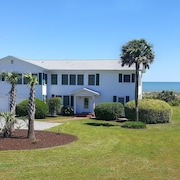 Oceanfront Family Friendly and Pet Friendly Myrtle Beach Home, Stunning Beach View