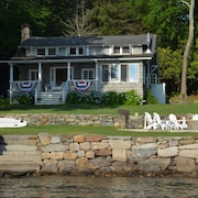 Experience Perch Rocks! A Unique Private Waterfront Cottage on Bantam Lake