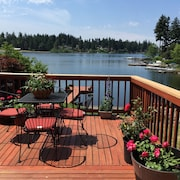 Great Lakefront Home, Steel Lake, Home Sweet Home