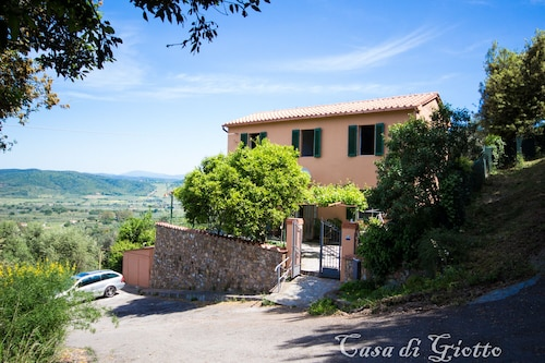 Private House for Holidays in the Tuscan Maremma With Garden and Wonderful View