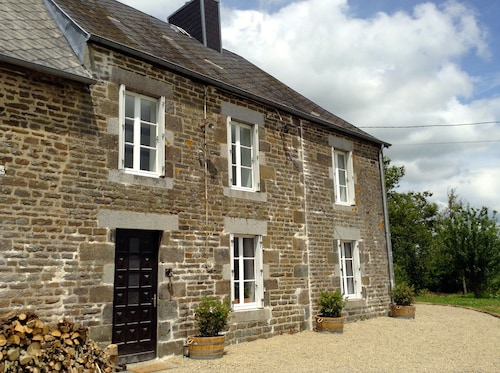 18th Century Normandy Family Farmhouse With 8 Acres in Stunning Countryside