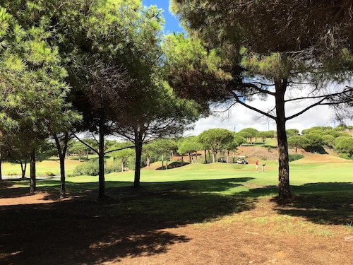 Charming Sunny Condo Backing TO Golf Course AND Walk TO Famous Cabopino Beach