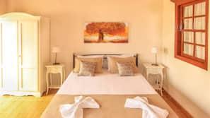2 Schlafzimmer, Betten mit Memory-Foam-Matratzen, Zimmersafe