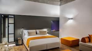 Frette Italian sheets, premium bedding, down duvets, memory-foam beds