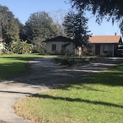 3/2 Winter Haven Lakefront Home! Large Florida Room and Den. Near Legoland