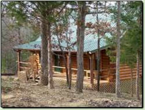 Secret Cove - a Quiet Oklahoma Vacation Cabin Rental