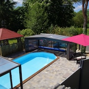Charming Cottage 6/7 People With Access to a Heated and Covered Swimming Pool
