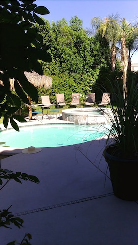 Great Place to stay The Hollywood Desert Estate is Walking Distance to Pollo Ground! near Indio