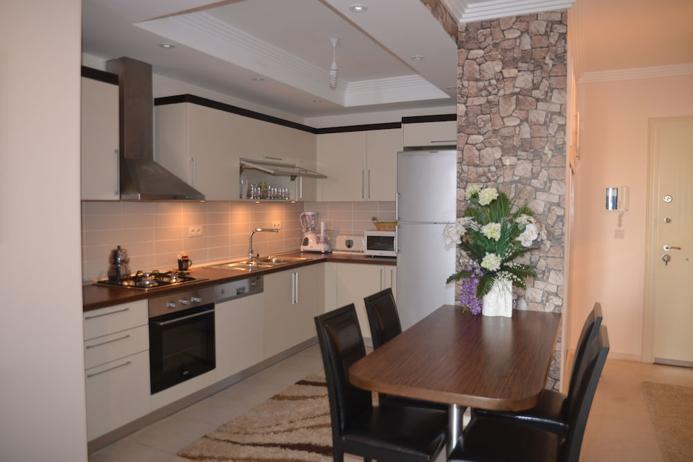 Private Kitchen, Terra Desir 1+1 With Sea View