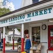 The Casco Bay Town Landing Market Guest House