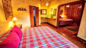 1 dormitorio, ropa de cama de alta calidad, edredones de plumas