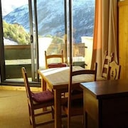 Apartment With one Bedroom in Saint-martin-de-belleville, With Wonderful Mountain View and Terrace - 50 m From the Slopes