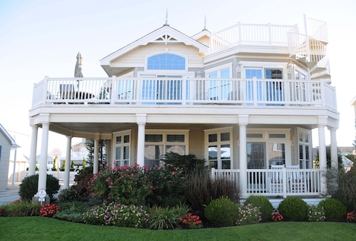 Great Place to stay Luxury House With Pool Steps Away From The Beach near Stone Harbor