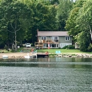 Luxury Waterfront Home on Pristine Horn Lake, North Muskoka