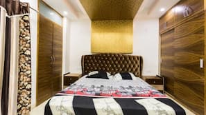 4 多间卧室、埃及棉床单、高档床上用品、加厚床垫