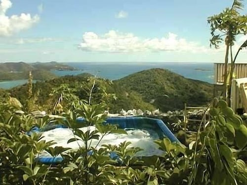 Breathtaking Panoramic Views of the British Virgin Islands From hot tub & Pool!
