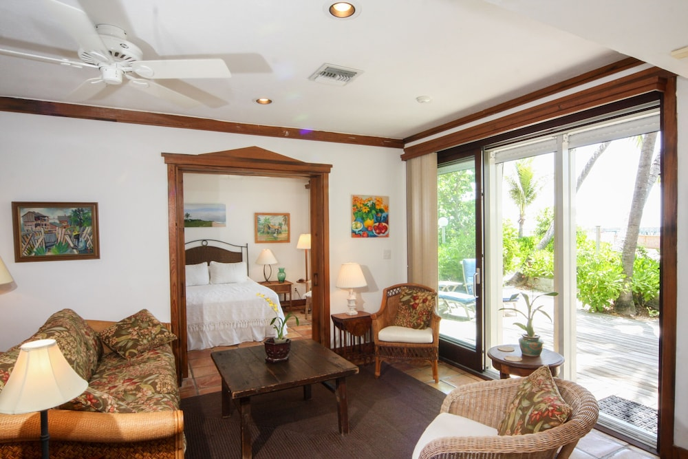 Living Room, Hidden Beach Unit 1. The Perfect Place to Stay in Key West for Less