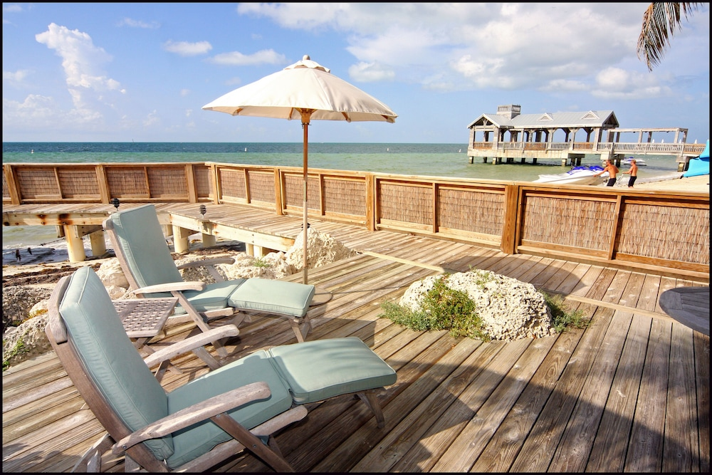 Balcony, Hidden Beach Unit 1. The Perfect Place to Stay in Key West for Less