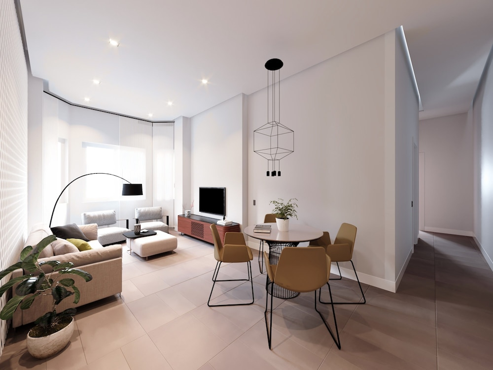 Living Room, SmartRental Collection Gran Via Centric