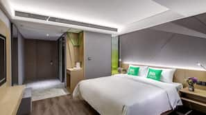 記憶棉床墊、免費 Wi-Fi、床單