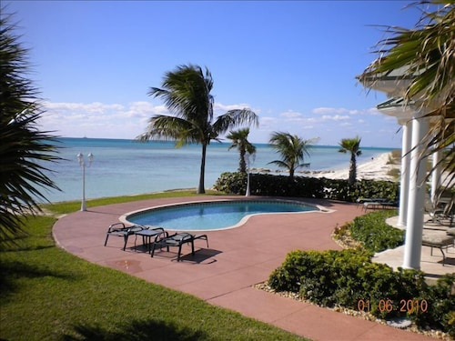 Pool, Ocean Front, Private Swimming Pool With Miles of Sandy Beaches