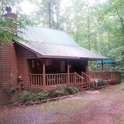 Weekday Specials -spectacular Creekside Cabin Amid N. Georgia Wineries-hot Tub!