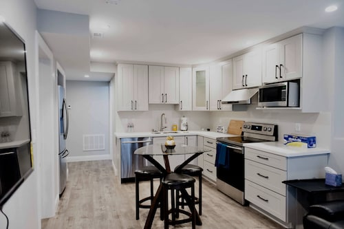 Newly Built Home 1bd1ba Living Room Kitchen in Nice & Decent Neighborhood