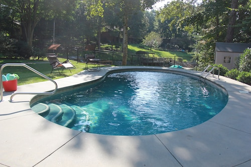 This is The Life! Fun Waterfront Outdoor Living and Pool. Renovations 2019