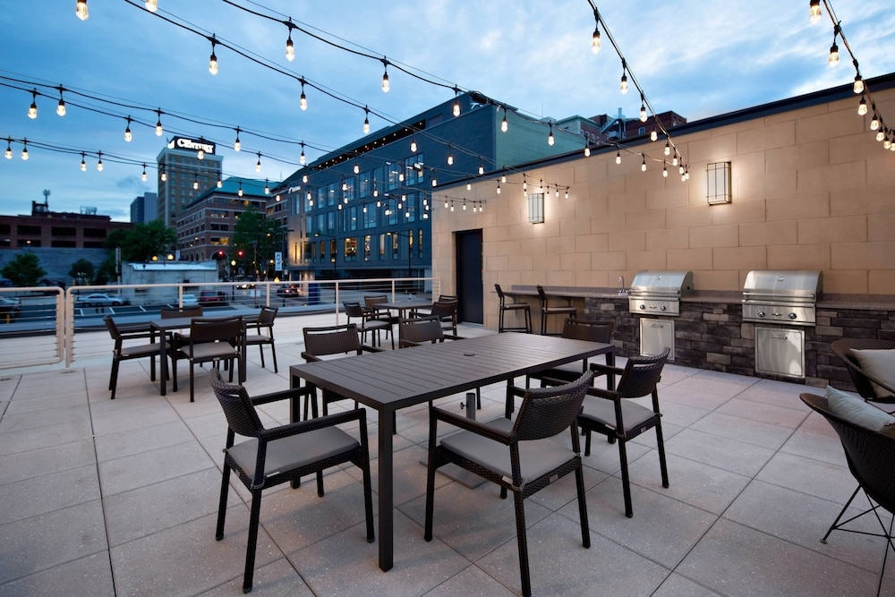 Terrace/Patio, Courtyard by Marriott Knoxville Downtown