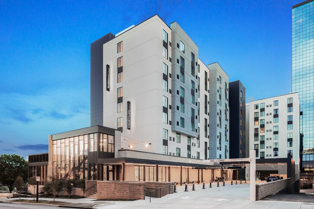 Building design, Courtyard by Marriott Knoxville Downtown
