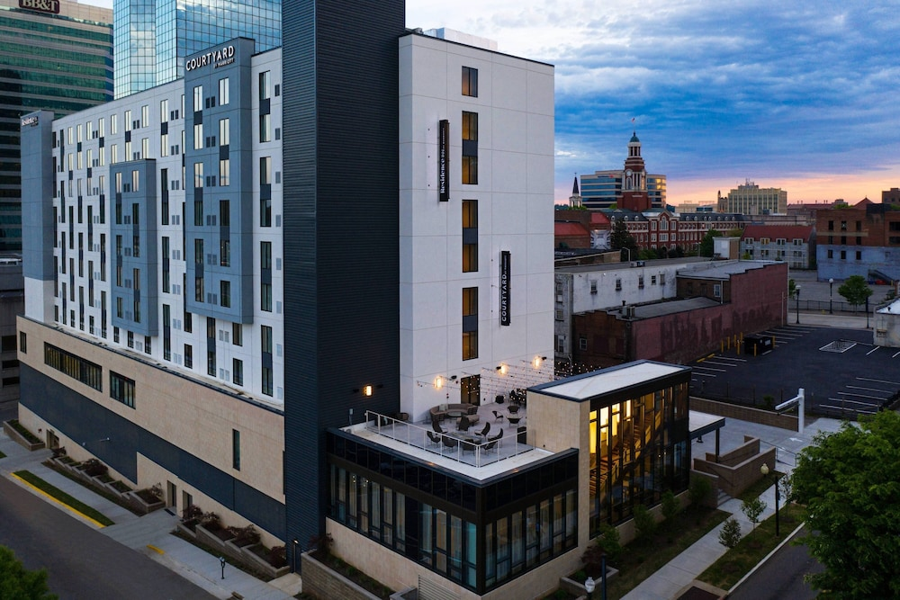 Exterior, Courtyard by Marriott Knoxville Downtown