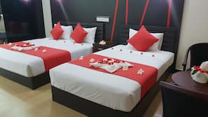 2 bedrooms, Egyptian cotton sheets, premium bedding, in-room safe