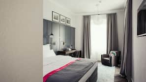Coffre-forts dans les chambres, rideaux occultants, lits bébé (gratuits)