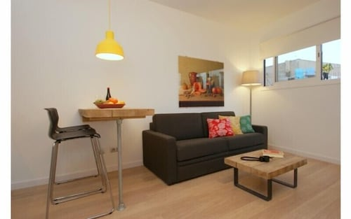Just off of La Rambla and Opposite Plaza Real, Ramblas Apartments ...