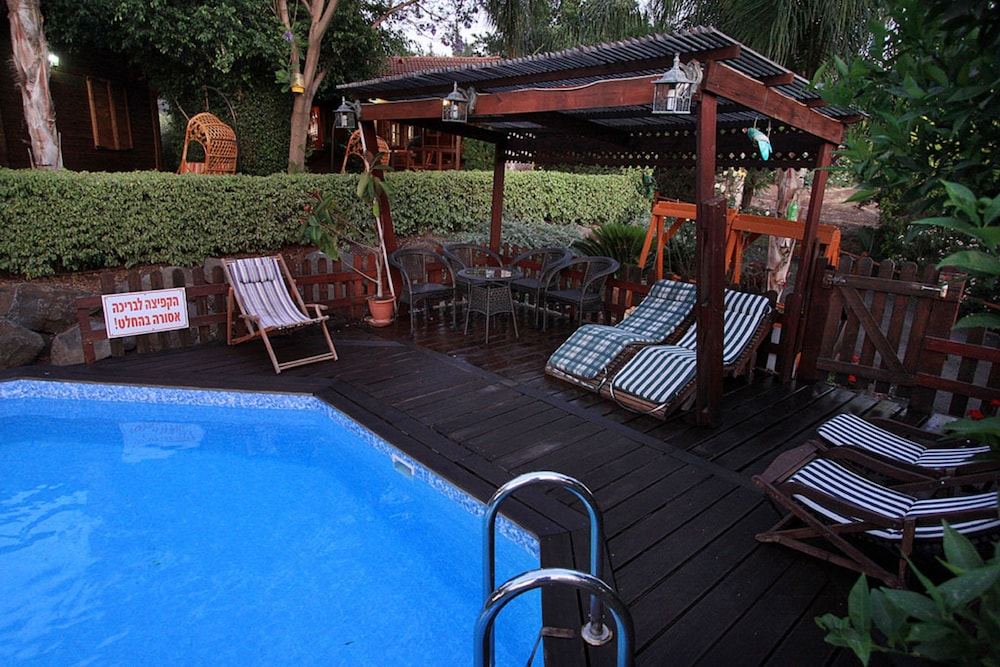 Outdoor Pool, Eden Ramot Chalets
