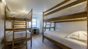 Premium bedding, blackout curtains, soundproofing, free WiFi